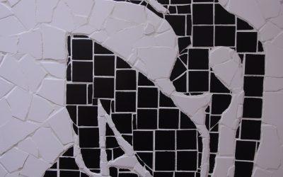 After Matisse's Blue Nude, Custom Shower Installation