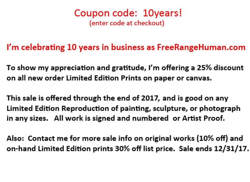 coupon code 10 year sale larger