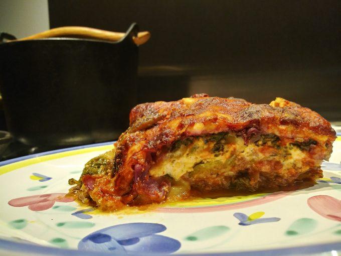 Lasagna, noodleless (gluten free)